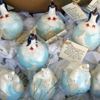 Polar Icecap Ornaments