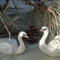 Swan Ornaments
