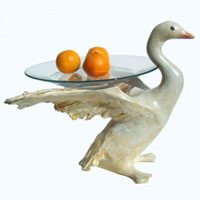Swan Plate Stands