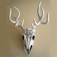 Vegan Deer Skulls